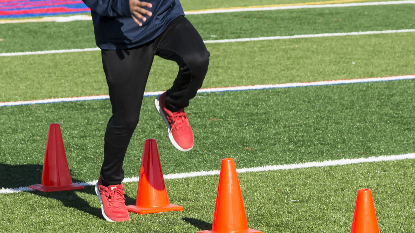 Cone Drills for Football Speed